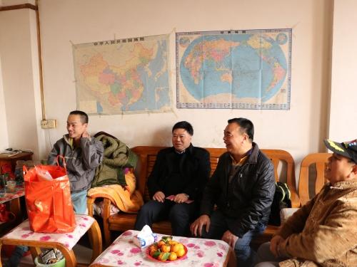 情暖节日 春节慰问